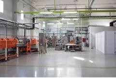 Кондитерская фабрика по производству жевательного мармелада.