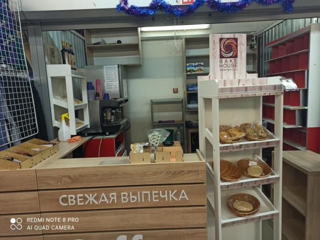 Продажа кофепоинта на рынке