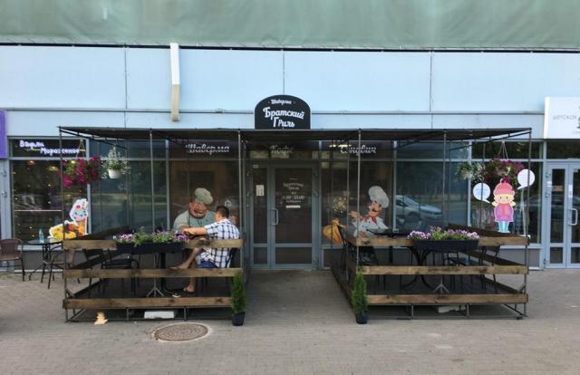 Продам кафе-шаурму по улице Гамарника 30, БЦ Зеленый луг