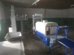 Продаётся фасовочное производство сыпучих смесей полного цикла