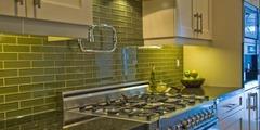 Продам производство стеклянных фризов и плитки