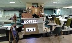 Продаётся кофейня в мебельном торговом центре