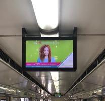 Продаётся рекламный бизнес: LCD экраны в вагонах метро